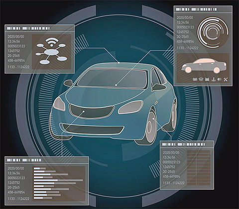Fig. 1: Autonomous Cars will be full of sensors which create challenges for manufacturers.