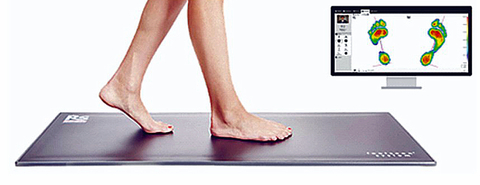 Sensor plates are to help people select the proper shoes and soles based on the pressure profile measured while walking or running.