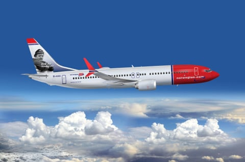 New aircraft by Norwegian Airlines