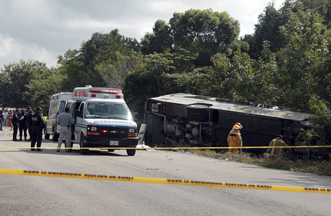 Mexico probes fatal bus crash as