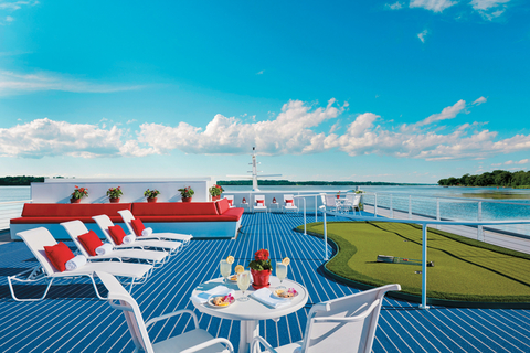 American Cruise Lines American Constellation Golf Sundeck