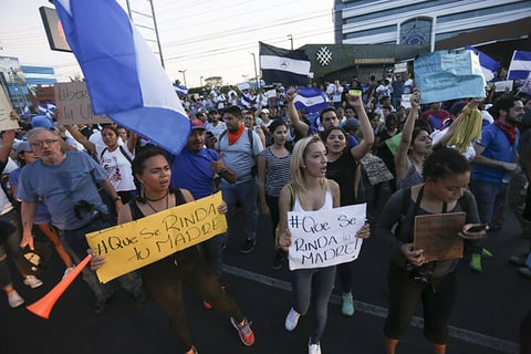 At least 27 killed in protests in Nicaragua