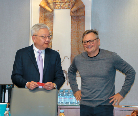 Ted Teng, The Leading Hotels of the World and Michael Gigl, Austrian Tourist Office