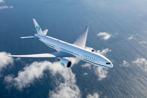 Crystal Skye - Crystal Aircruses' private luxury jet