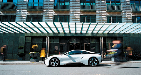 Regent Berlin's BMW i8 package