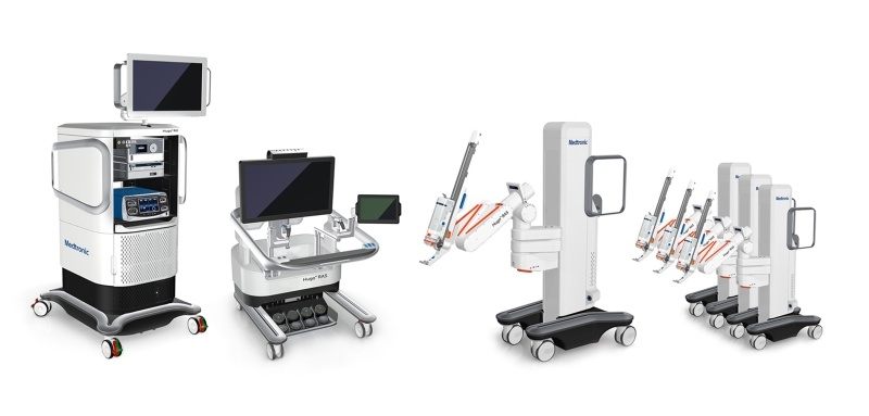 Medtronic shows off its new surgery robot to investors