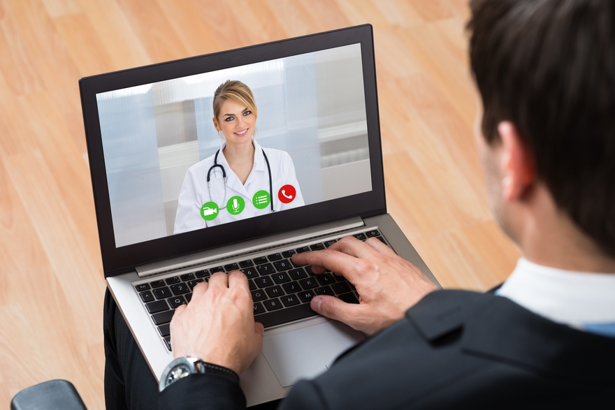Inpatient telehealth use jumps, outpatient adoption remains flat