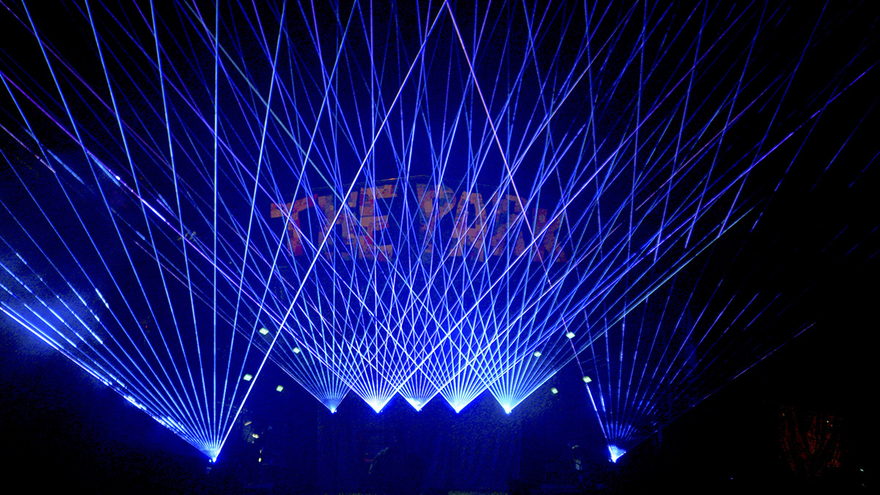 Chris Levine is Lighting Up Hobart With the Biggest Laser