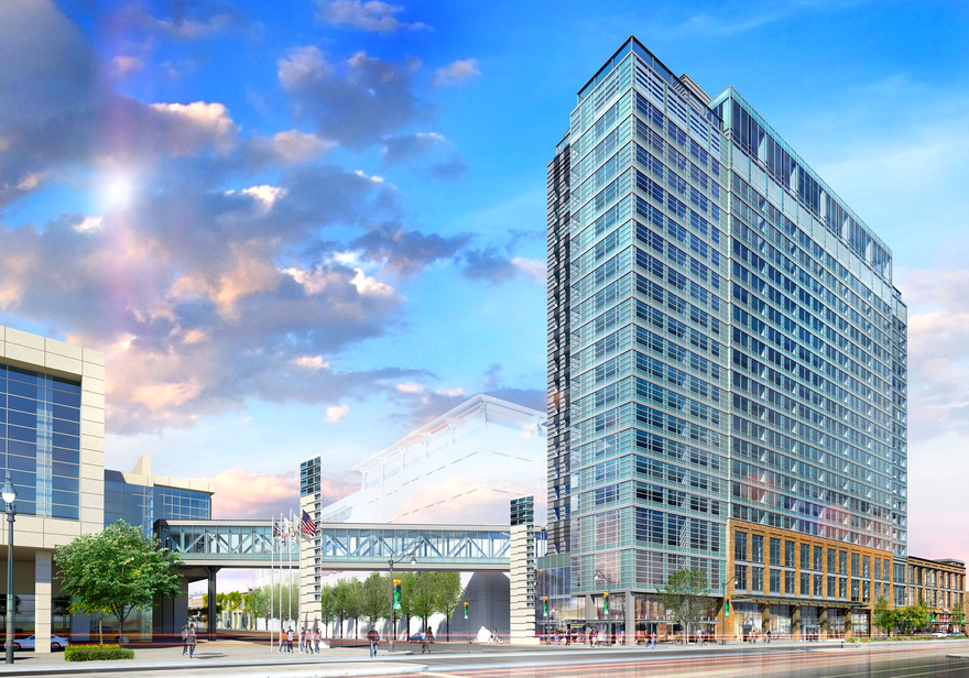 """Some More Info on Restaurants/Bars at the New """"Tri-Branded"""" Hilton Hotel on Cermak (between Michigan and Indiana)"""
