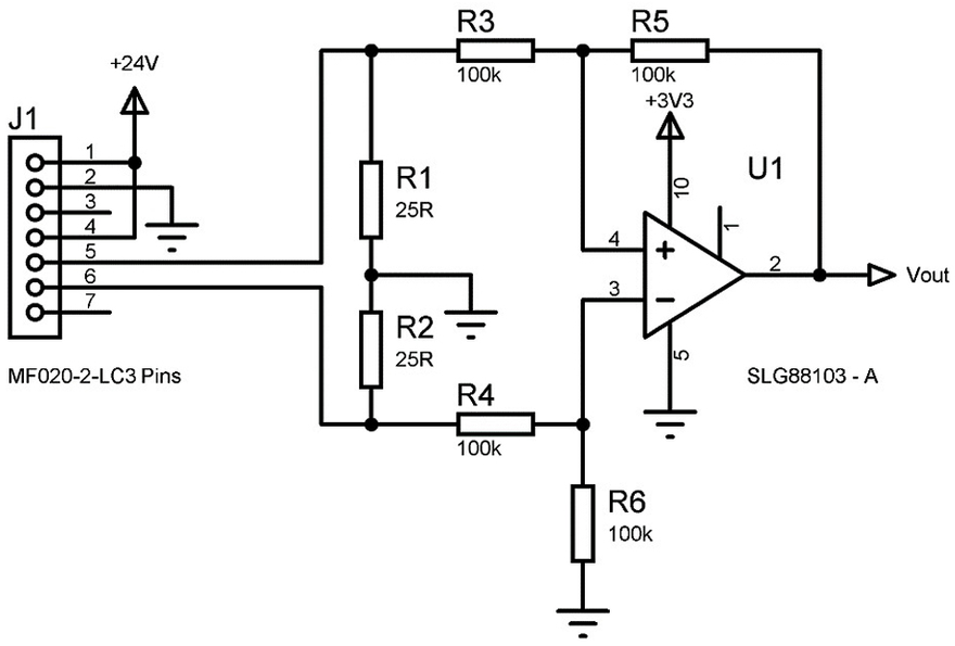 Implementing A 4-mA to 20-mA Sensor Interface