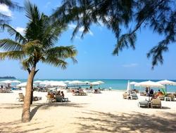 Thai beach.