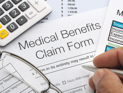 Medical benefits claim form
