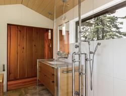 WaterBridge exposed shower system