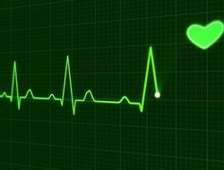 hospital heart alarm screen