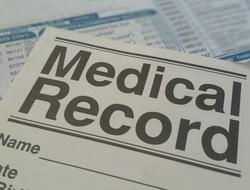 Medical records paperwork