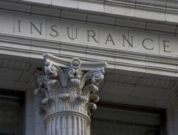 Pillar that says 'Health Insurance'
