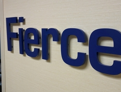 picture of FierceMarkets sign outside of office