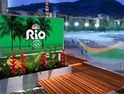 NBC Sports studio Rio Olympics 2016