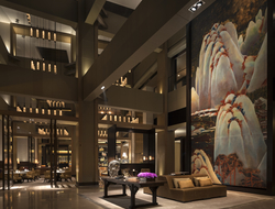Lobby at the Rosewood Beijing China