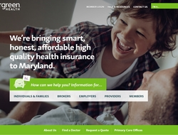 Evergreen Health webpage