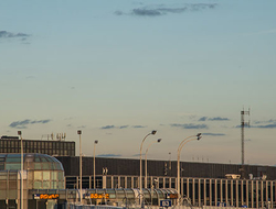 Control towers at Chicago O'Hare International Airport