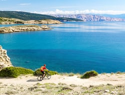 Bicycling through Croatia