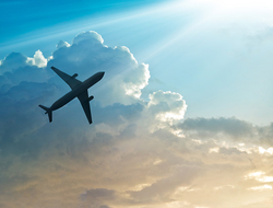 Airplane (Edit Only)  ipopba/ iStock / Getty Images Plus