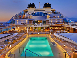 Seabourn Encore Pool Deck