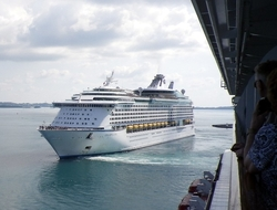 Royal Caribbean Allure of the Seas Copyright Susan J Young