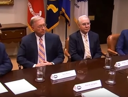 Trump holding meeting with insurance executives