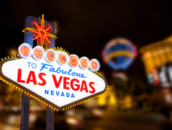 Las Vegas Sign - kanonsky/iStock/Getty Images Plus/Getty Images
