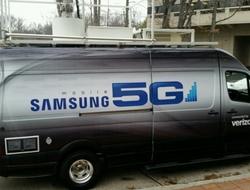 Samsung 5G van (Verizon)