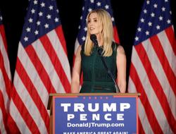 Ivanka Trump speaking