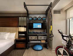 Hilton Five Feet to Fitness