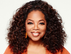 Portrait of Oprah Winfrey