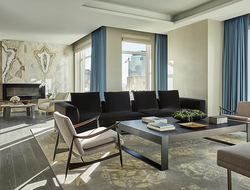 Four Seasons New York Downtown Royal Suite Living Room