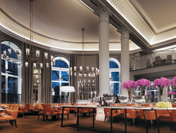 Corinthia Hotel London's The Northall restaurant serves seasonal British fare.