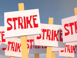 Strike signs