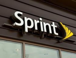 Sprint Store sign