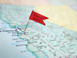 Silicon Valley on map