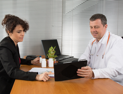 Pharma Rep and Doctor