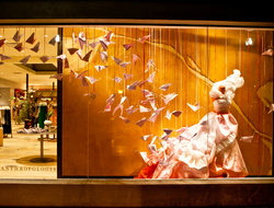 Anthropologie store front display