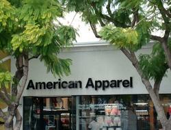 American Apparel store