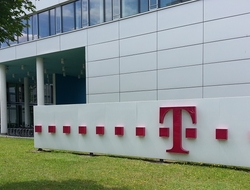 Deutsche Telekom sign
