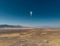 Project Loon balloon (X)