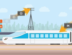 Samsung 5G train demo (Samsung)