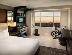 Hilton Five Feet to Fitness Guestroom