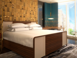 JDR Hospitality Solutions provides casegoods, upholstery and lighting for Viceroy Chicago.