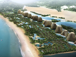 Chapman Taylor designs masterplan of Mui Dinh eco-resort in Vietnam.