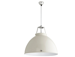 Original BTC launched the Titan pendant, which pays homage to the original product, but now features a hand-spun metal shade crafted in the company's metal workshop in central England.